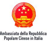 logo Ambasciata cinese con scritto